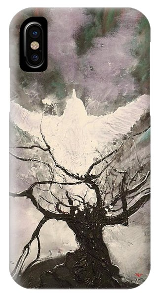 Rising From The Ashes IPhone Case
