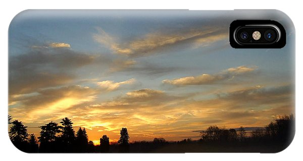 Rising Mist Skys IPhone Case