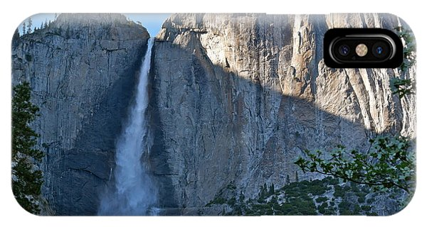 Rising Sun At Upper Yosemite Falls IPhone Case