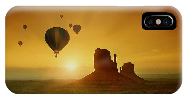 Rising To The Sun IPhone Case