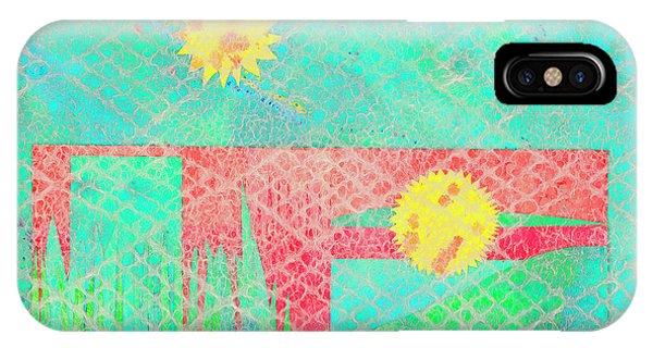 Rita's Meadow IPhone Case
