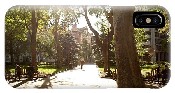 Rittenhouse In The Sun IPhone Case