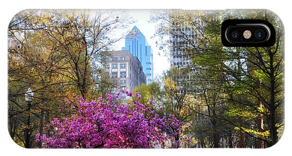 iPhone Case - Rittenhouse Square In Springtime by Bill Cannon