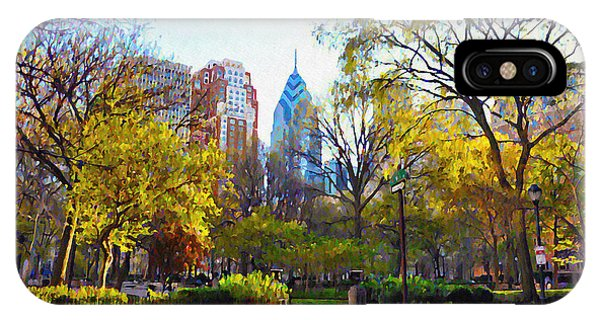 Rittenhouse Square In The Spring IPhone Case