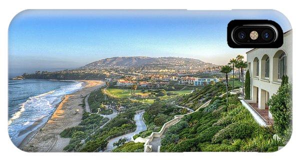 Ritz-carlton Laguna Niguel Ocean View IPhone Case
