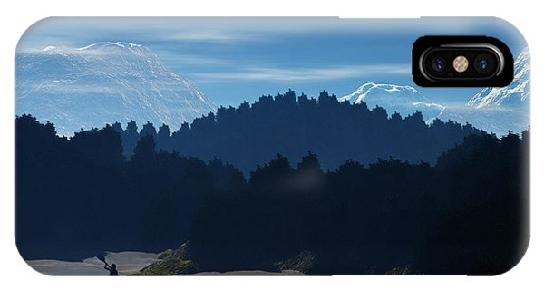 River Adventure IPhone Case