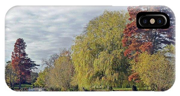 River Avon In Autumn IPhone Case