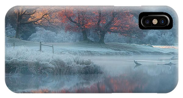 Winter iPhone Case - River Brathay by Wolfy