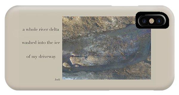 River Delta Haiga IPhone Case