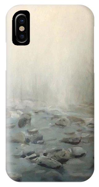 River Fog IPhone Case
