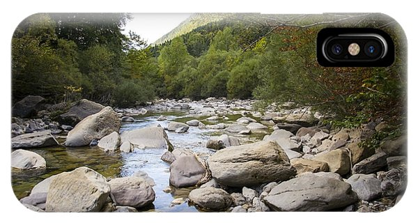 river in Ainsa IPhone Case