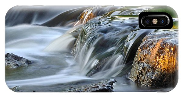 River In Slow Motion IPhone Case