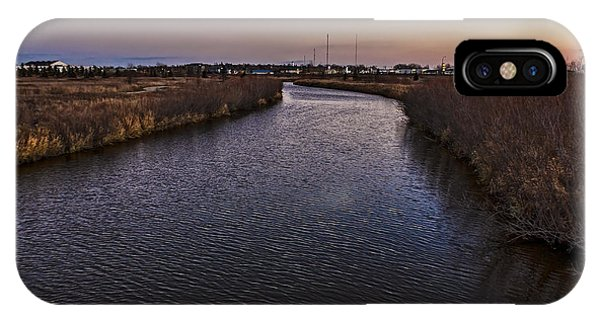 iPhone Case - River In Weyburn by Viktor Birkus