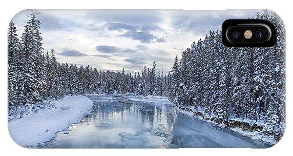 Banff iPhone Case - River Of Ice by Evelina Kremsdorf