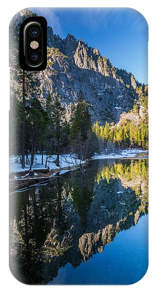 River Reflections IPhone Case
