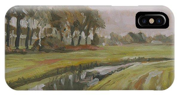 River Reusel Near Baarschot IPhone Case