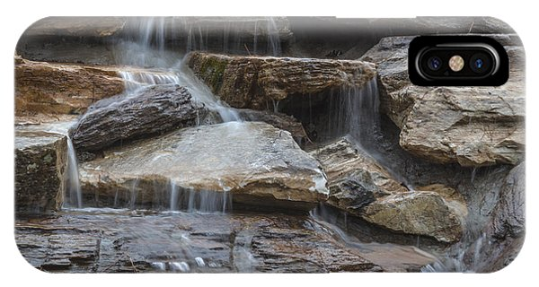 River Rock Waterfall IPhone Case
