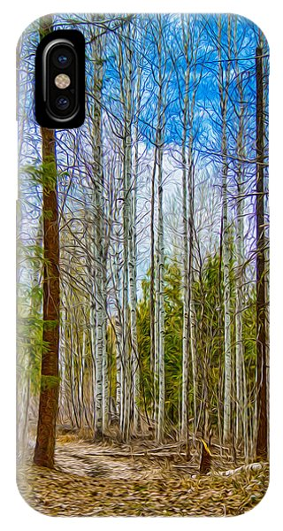 River Run Trail At Arrowleaf IPhone Case