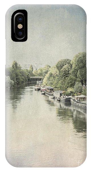 River Seine In Paris IPhone Case
