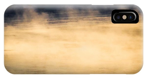 Uplift iPhone Case - River Smoke by Bob Orsillo