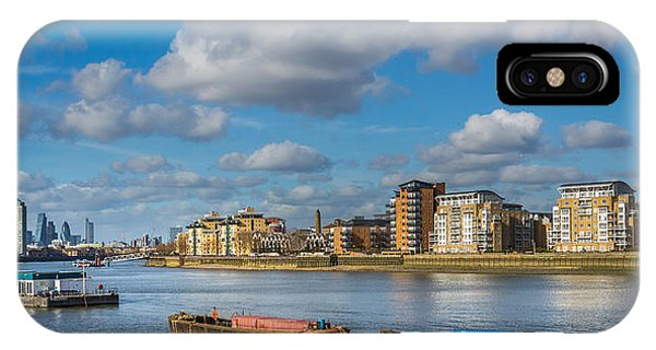 River Thames At Greenwich IPhone Case
