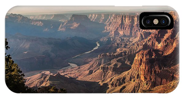River Through Grand Canyon IPhone Case