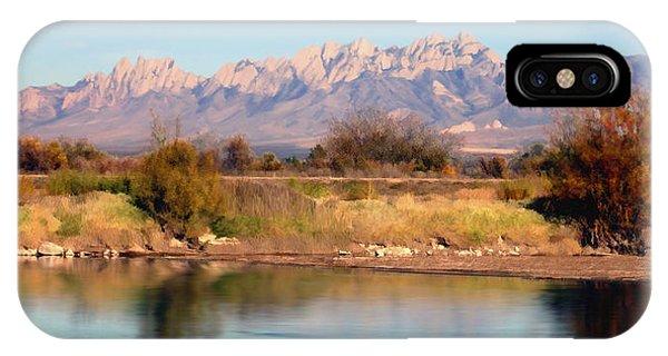 River View Mesilla Panorama IPhone Case