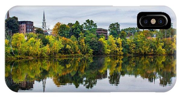 River View Of Brattleboro Vermont IPhone Case