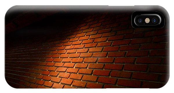 River Walk Brick Wall IPhone Case
