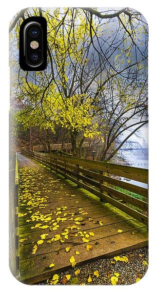 Trestle iPhone Case - River Walk by Debra and Dave Vanderlaan