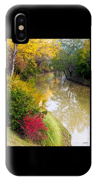 River With Autumn Colors IPhone Case