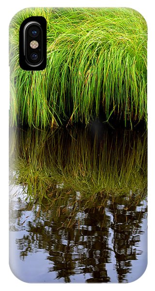 Riverbank Wild Grass IPhone Case
