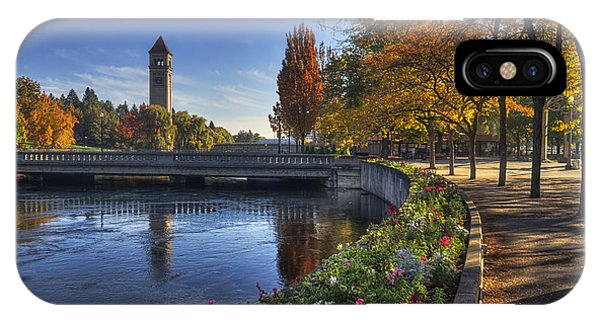Riverfront Park - Spokane IPhone Case