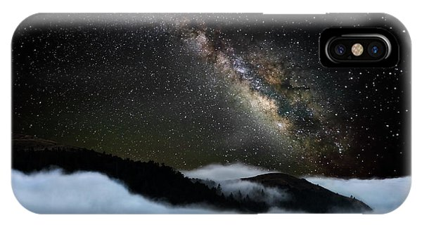 Night iPhone Case - Rivers In The Sky by John Fan