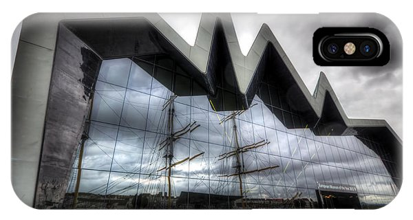 Riverside Museum IPhone Case