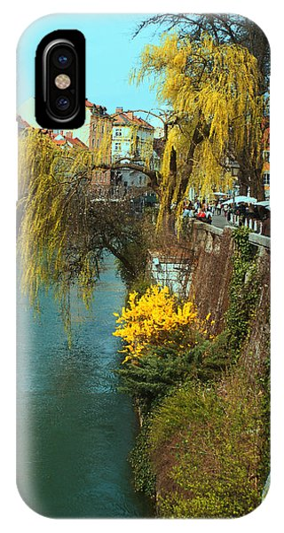 Riverside Walks Ljubljanica IPhone Case