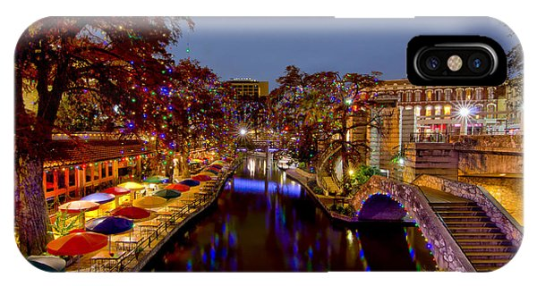 Riverwalk Christmas IPhone Case