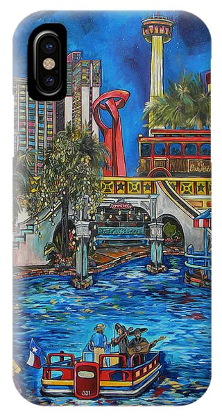 Riverwalk View IPhone Case