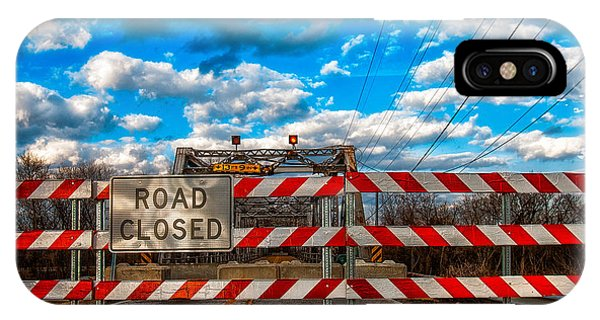 Road Closed IPhone Case