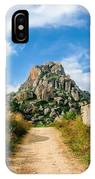 Road Into The Hills IPhone Case