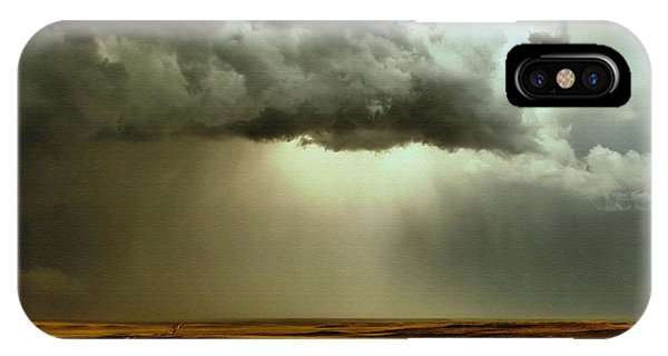 Road Into The Storm IPhone Case