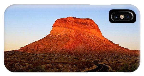 Road To Cerro Castellan IPhone Case
