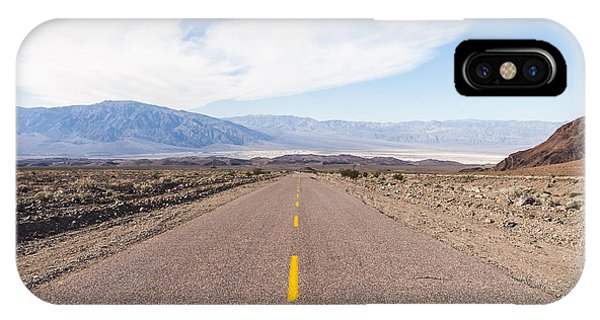 Road To Death Valley IPhone Case