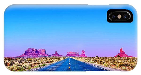 Monument Valley iPhone Case - Road To Ruin 2 by Az Jackson
