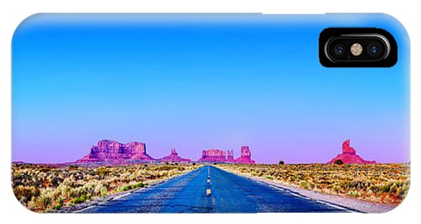 Monument Valley iPhone Case - Long Road To Ruin by Az Jackson