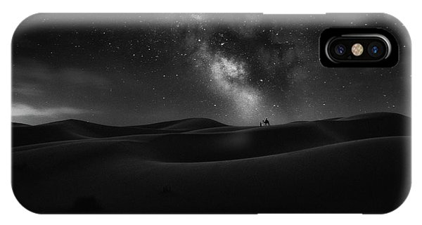 Dunes iPhone Case - Road To Stars by Jorge Ruiz Dueso