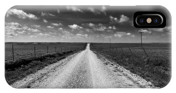 Road To Texaco Hill IPhone Case