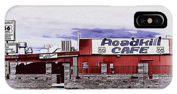 Roadkill Cafe Phone Case by Wayne Wood