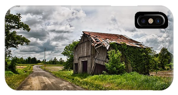 Roadside Barn IPhone Case