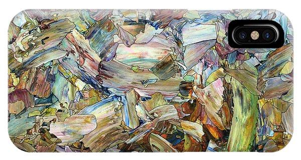Spirit iPhone Case - Roadside Fragmentation - Square by James W Johnson